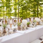 DIY for arranging a modern and intimate wedding